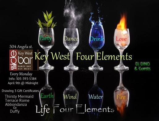 Four Elements Party My Key West Portal Is The Social