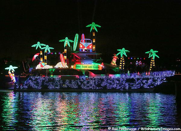 Lighted Boat Parade - Schooner Wharf